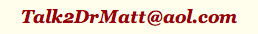Dr Matt's Email Address